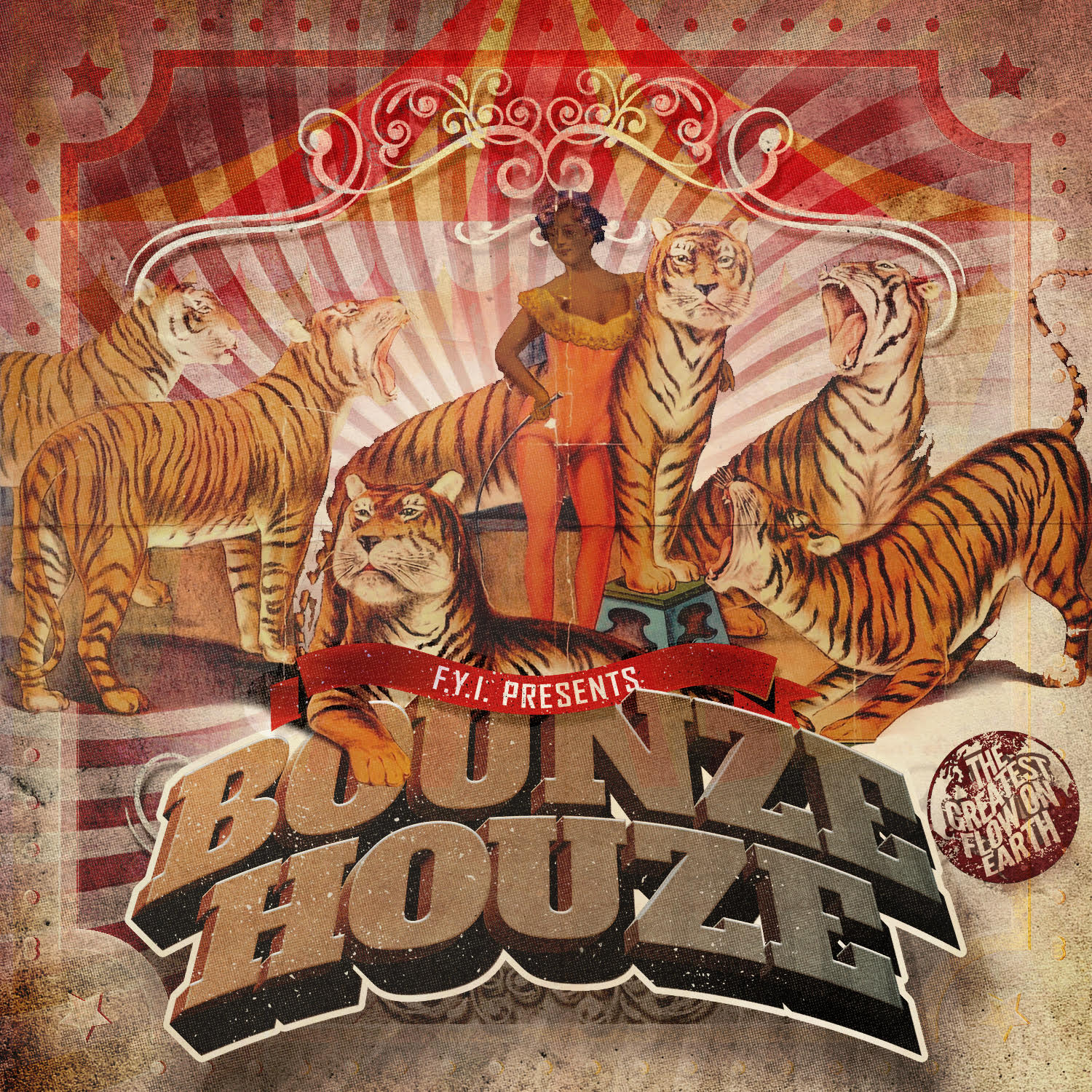 Bounze Houze Front Cover