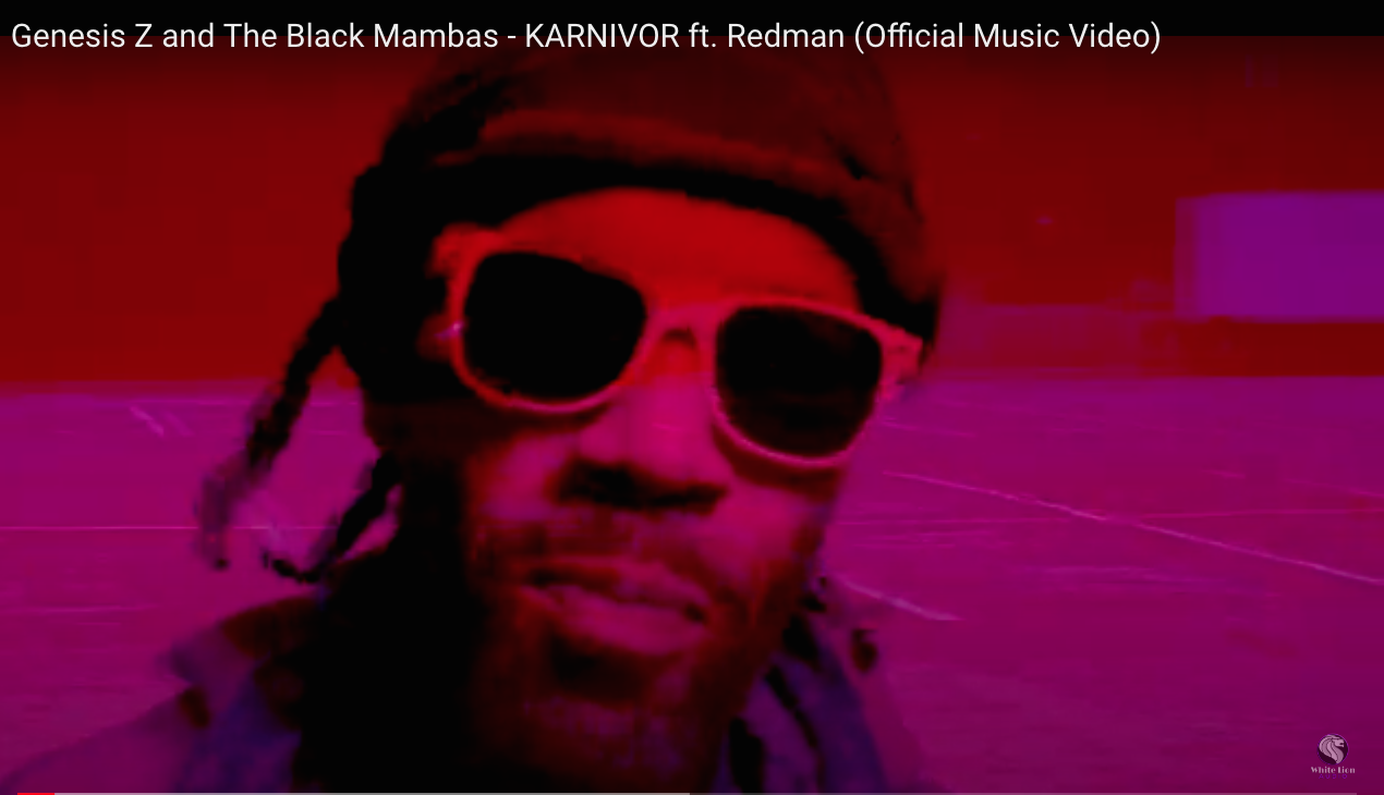 "Genesis Z and the Black Mambas Release ""Karnivor"" Video ft. Redman"