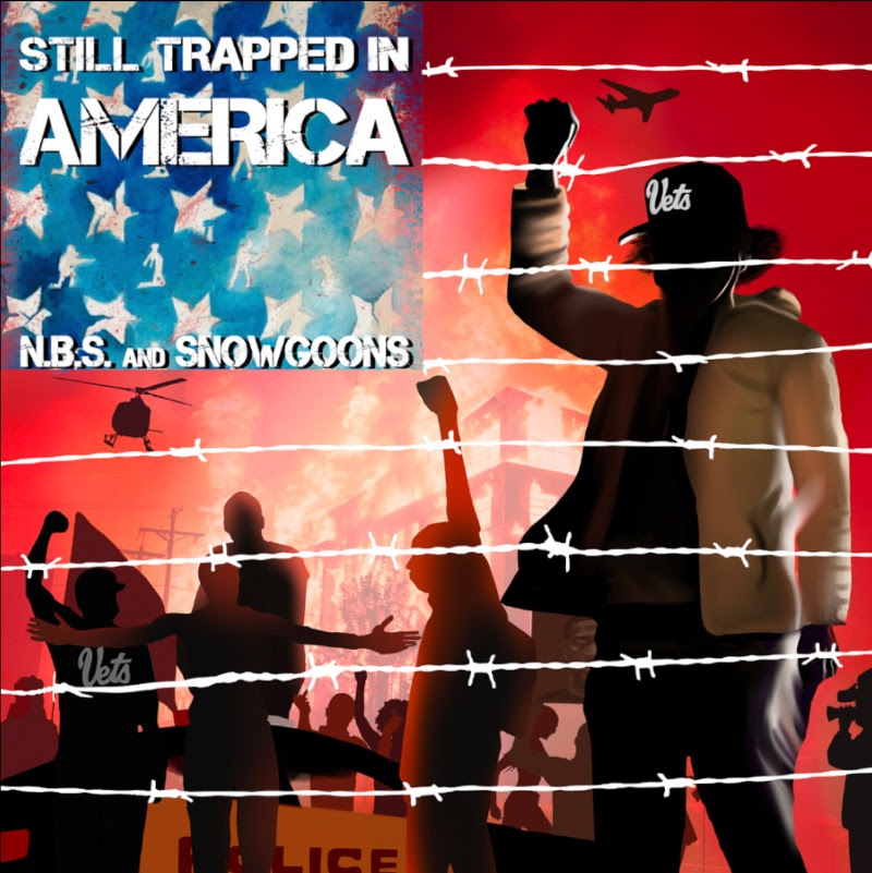 N.B.S & Snowgoons – Trapped In America