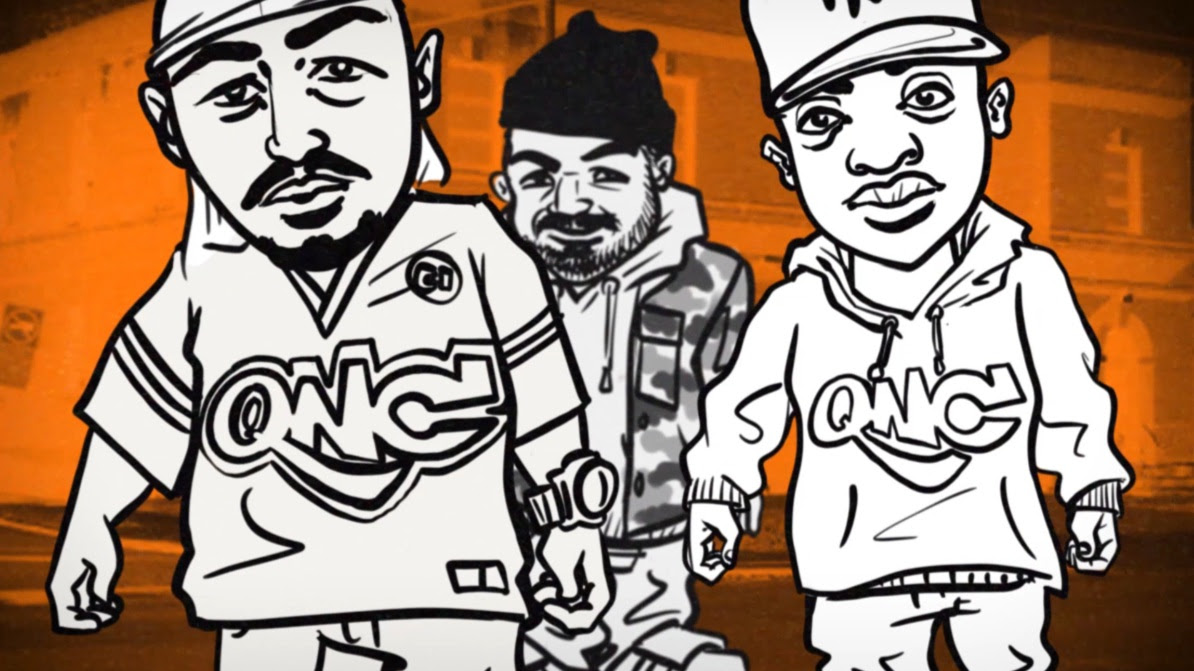 """Roccwell ft. QNC (Q-Ball & Curt Cazal) """"From CI"""" Animated Video"""